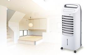 【53%OFF/外装訳あり商品】クーラーとは違う自然に近い涼しさ。からだに優しい冷風扇機能を搭載《加湿つき温冷風扇なごみ AHC-107》4つのモードでオールシーズン使える優れもの