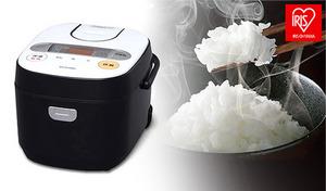 主要な31銘柄のお米を、それぞれにぴったりな炊き方で美味しく炊き上げる。極厚の火釜が熱を逃がさず包み込み、お米をふっくらモチモチに《米屋の旨み 銘柄炊き ジャー炊飯器 5.5合 RC-MA50-B》