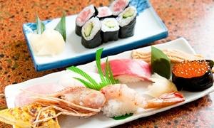 【 51%OFF 】上寿司や江戸前あなごの姿煮などを贅沢に ≪ 寿司セット全8品 / 1・2・4名分から選べる ≫ @創作寿司割烹 山水