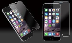 【500円】前回より値下げ!2枚セットでお得≪iPhone対応強化ガラス液晶保護フィルム/9H/超薄約0.3mm/透明度99%/iPhone5/6/6plus/7用≫ ※クーポン番号発行後、別途購入手続きが必要です。
