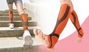 【選べる2色・2サイズ】立ち仕事や長時間歩行でも疲れにくい《勝野式 快歩テーピングサポーター》スポーツドクターのテーピング理論に基づいたサポートラインと足首固定で元気にぐんぐん歩けるサポーター