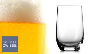 【6個セット】世界中のホテルやレストランが愛用する「SCHOTT ZWIESEL」の《BANQUET タンブラー11oz 6個セット(974244)》耐久性と、飲み物を引き立てる輝きを備えたグラス。食洗機対応
