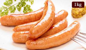 【訳あり/送料込み】何にでも使いやすい《国産あらびきウインナーソーセージ1kg保証》サイズが規格外なだけで味はA級品のお得なソーセージです。朝食から夕食まで大活躍