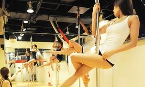 【最大67%OFF】華麗に美しく、アクロバティックな趣味を≪ポールダンスなど選べるレッスン(入会金込)/5回分 or 10回分 or 20回分≫女性限定 @Pole & Aerial Studio Polish