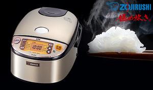 【57%OFF】プラチナの触媒作用で水を弱アルカリ化する「プラチナ厚釜」採用。甘味がアップした美味しいごはんに炊き上げる《IH炊飯ジャー 極め炊き NP-HF10-XA》