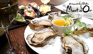 【52%OFF/乾杯スパークリング1杯】厳選「牡蠣」を生・焼き・パスタなどで味わい尽くす贅がここに。牡蠣は産地直送、鮮度抜群で提供。ぷるぷる舌触り、濃厚な風味、海の香りを満喫《厳選牡蠣尽くしコース》