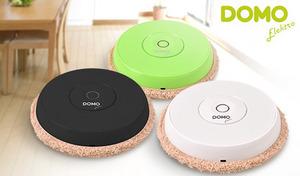 【3色展開】ボタンひとつで自動走行。フローリング中を動き回ってホコリやゴミをすっきり拭き取る、床拭きロボット《DOMOオートワイパー DM0002》