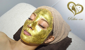 【69%OFF/2店舗・2枚利用可】最先端マシン(3Dラジオ波)&純金箔パック使用。毛穴の汚れを吸着し、パッと明るい素肌へ導く。最新美容マシンでシャープな美人顔&もち肌に《リフトアップ美肌 or 毛穴洗浄・キメ》