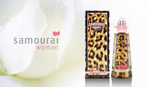 """【85%OFF】ワイルドでキュートなボトルから漂う香りは、まさに""""花のダイヤモンド""""《サムライウーマンヴァニティージャスミン EDT 50mL》女性らしい上品な色香を楽しめるとっておきのフレグランス"""