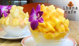 【夏真っ盛り/選べるかき氷など】旬のフルーツや、北海道産の生乳・地元産の赤卵などこだわり素材を贅沢に使ったフレンチトースト専門店《ミニフレンチトースト+選べるかき氷+ドリンクバー》