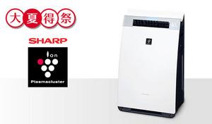 高い空気浄化性能で遠くのホコリも吸い寄せる。定期的に自動掃除パワーユニットが起動し、集じん性能も持続《シャープ 加湿空気清浄機 KI-GX75-W》