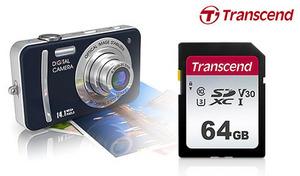 【58%OFF】写真や動画撮影など、デイリーユースに最適なメモリーカード。UHS-Iの対応機器と組み合わせれば、大容量データをスピーディに転送《64GB UHS-I U3 SD Card TS64GSDC300S》
