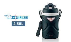 ご家族での使用や、水分をしっかり摂りたい日に大活躍する2.55L容量モデル。スムーズな飲み口と、優れた保冷力を備えたアイテム《ステンレスクールボトルTUFF DJ-CM25》