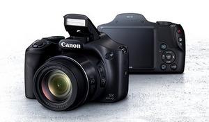 花の接写から月のクレーターまでレンズ交換なしで対応。初心者でも扱いやすいサポート機能も充実。簡単操作で超望遠領域の撮影が可能《Canon デジタルカメラ PowerShot SX530HS》