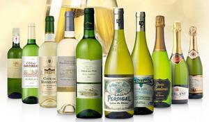 【送料込み/10本セット】フランス各地から厳選したスパークリングワインと白ワインを飲み比べ。ディナーやパーティーにぴったりの辛口タイプ《オールフランス辛口白・泡ワイン10本セット》