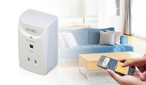 消費電力を測って賢く節電生活。コンセントに挿してスマホとBluetooth接続すれば、電気製品ごとの消費電力を簡単計測《Bluetoothワットチェッカー REX-BTWATTCH1》