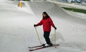 【 47%OFF 】季節に関係なく、一年中雪遊びを ≪ 室内ゲレンデ利用120分 / レンタル一式・入会金込み ≫ @スノーヴァ新横浜