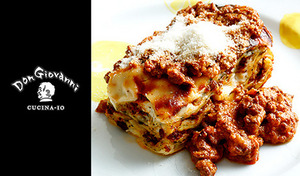 【食べログ3.56/1ドリンク付き】星付きの名店で腕を磨いたシェフがイタリアフィレンツェの味を再現《手打ちパスタやお肉料理など/ジョバンニのファンタジーコース+スパークリングワイン》