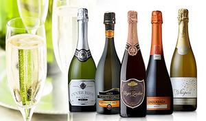 【送料込み】リッチでエレガントなひとときを演出するスパークリングワイン。フランス・イタリア・スペイン・チリ・オーストラリアが誇るワインを堪能《スパークリング5ヵ国飲み比べ5本セット》