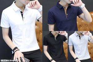 【1,480円】≪☆送料無料☆シンプルなデザインで使いやすい!着るだけでセンスを感じるオシャレな大人スタイル、メンズポロシャツです♪「半袖メンズTシャツ」≫