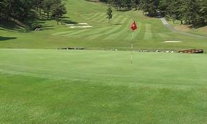 標高630メートル。戦略性に富んだ丘陵コースで軽快にプレー≪ゴルフ18Hプレー/昼食付≫10月末まで利用可@尾道カントリークラブ