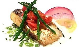 【 最大46%OFF 】季節を愉しむ贅沢ランチで、心に残るひと時を ≪ ランチ / 肉料理・魚料理などフレンチコース全7品 / 他1メニュー ≫ @l'intemporel (ランタンポレル)