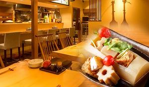 【54%OFF/120分飲み放題】日本酒好きに捧ぐ。日本酒のプロ「利き酒師」資格を持つ店主が営む隠れ家空間で、ゆるりとお酒を嗜むひとときを《至高の【松】コース+120分飲み放題》TX浅草駅徒歩1分の細道に佇む和食居酒屋
