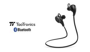 【72%OFF/2色展開】ワイヤレスながら高音質で、耐久性も兼ね備えたヘッドセット。約14gの軽量設計《Bluetooth イヤホン 4.0 ワイヤレスステレオヘッドセット TT-BH06》