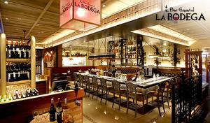 【東急プラザ銀座10階/ランチコース+2杯】前菜・メイン・パエリアを自分好みのスペインスタイルで味わう本場のスペイン料理バル。《プリフィクスランチ全4品/オリジナルカヴァ》【平日月曜~金曜のご利用限定】