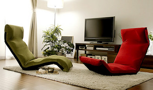【送料込み】中にはウレタンがギッシリ。モールド成形で心地良い座り心地を実現《折りたたみ式リクライニングチェアー 和楽の雲new》14段階のギアチェンジが可能【選べる2種・7色展開】