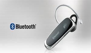 Bluetooth搭載のスマートフォンと接続し、ワイヤレス通話が楽しめる。タッチ式のボタンで、軽く触れるだけのスムーズ操作を実現《タッチセンサー Bluetooth イヤホンマイク BL-67》