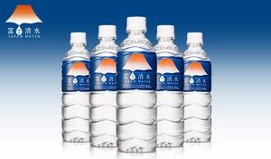 【50%OFF/送料込み】富士山の源水を使用したミネラルウォーター《富士清水500mL×24本×2ケース》現代病をサポートするミネラル成分を含む軟水