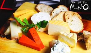 【50%OFF/乾杯ドリンク/全5品】世界2位に輝いたチーズソムリエが魅せる、チーズ尽くしの贅沢。フランス産ラクレットチーズがけ季節野菜のグリル、世界のチーズ3種盛りなど《ラクレットチーズセットプラン+乾杯ドリンク1杯》