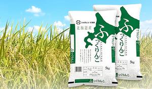 【送料込み】高品質な北海道産のお米「ふっくりんこ」。ふっくらとしたやわらかさと甘みが特徴《平成29年産 北海道ふっくりんこ 10kg(5kg×2袋)》