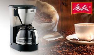 ひとりで飲むときも、家族や友人とのコーヒータイムも、メリタ式の1つ穴フィルターで抽出したコーヒーを手軽に楽しめる。2~10杯に対応の大容量サイズ《メリタ コーヒーメーカー ミアス MKM-4101》