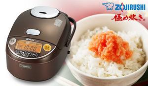 釜全体に熱が行き渡り、シャキッとしたふっくらご飯に炊き上がる。お米のうま味をしっかり引き出すことにこだわり抜いた1台《圧力 IH炊飯ジャー 極め炊き NP-ZQ18-TA》