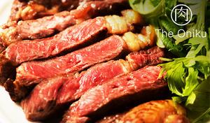 【送料込み】牛肉の高級部位、厚切りカットの牛サーロインステーキ。きめが細かくやわらかで上質な肉質。豪快な厚切りステーキからしたたる旨味がたまらない《厚切り牛サーロインステーキ用500g(約250g×2枚)》
