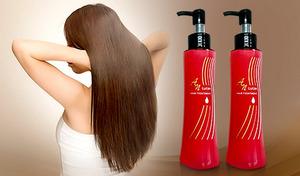 【特別価格/2本セット】乾燥によるダメージから守り、うるおいに満ちたサラサラな髪へ《ANルーティンヘアートリートメント 120mL 2本セット》濡れた髪にも、乾いた髪にも
