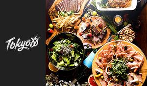 【54%OFF/180分飲み放題/ボトルスパークリング付き】世界各国のエッセンスを一皿に融合。ピリ辛チキンを好きなだけ新鮮野菜に包める「DIYラップ」など、独創性あふれるヘルシー料理にドキドキ《コース全6品》