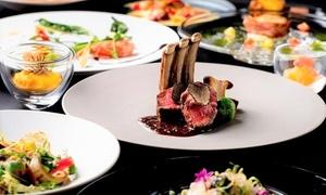 【最大47%OFF】季節を愉しむ贅沢ディナーで心に残るひと時を≪肉料理・魚料理などフレンチコース全10品/他1メニュー≫ @l'intemporel (ランタンポレル)