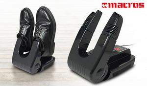 【57%OFF】革靴・スニーカー・ヒール・ブーツなどさまざまな種類の靴に対応。ドライヤー部分が伸縮式で、角度調節もOK《温風式シューズドライヤー MEH-46》