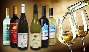 【送料込み】フランスが誇るエレガントで繊細な味わいのシャブリ2本を含めた、イタリア&チリ産の赤ワイン・白ワインの贅沢な6本セット《シャブリ2本入り フランス・イタリア・チリ飲み比べ6本セット》
