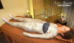 【体験取材/オーナー施術/新規限定/サイズダウンに導く】締め付けない爽やかハーブ痩身。眠りから覚めるとすっきりボディに。ウエスト・足など気になる部位へ。《選べるハーブ痩身》