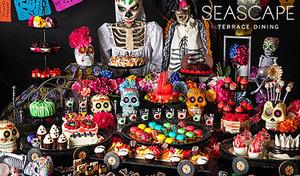 """【ハロウィンデザートブッフェ/月~金曜】ヒルトン東京お台場でメキシコの祭典「死者の日」にインスパイアされた、ビビッドでカラフルなスイーツ《「""""ビビかわ""""ハロウィンモンスター」~死者の日のパレード~》"""