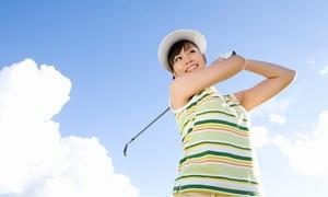 [4回分・1回750円]屋外練習場の開放的な空間でレッスン。初めてクラブを握る方もお気軽に≪ゴルフレッスン60~80分/クラブ・シューズ・グローブは無料レンタル≫男女利用可 @ABCゴルフスクール