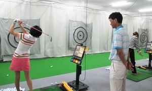 レッスンコーチは、専属プロが担当≪インドアゴルフ ビジターレッスン2回+打ちっ放しやシミュレーションなど施設で使える5,500ポイント≫ @守口カントリークラブ