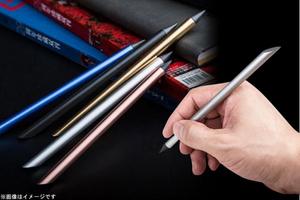 71%OFF【1,080円】≪☆送料無料☆インク不要で使える!!合金製のペン先が紙との間に生じる摩擦により文字が記される♪「インク不要で使えるペン★☆」≫