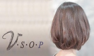 【最大69%OFF】5年後、10年後も「綺麗だね」と言われる髪に≪カット+(カラーorパーマor前髪矯正)+5ステップ濃密トリートメント/他3メニュー≫女性限定 @V.S.O.P