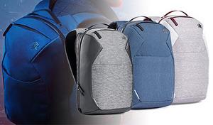 【3色展開】スタイリッシュなデザインでありながら機能的。ビジネスシーンからプライベートまで活躍する、モバイルバックパック《STM myth pack 18L》