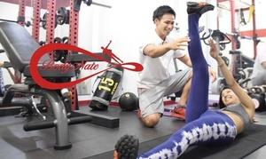 【最大81%OFF】本気のパーソナルメニュー≪パーソナルトレーニング50分(食事指導・プロテイン・水素水など込)/4回 or 6回 or 8回≫男女可 @エステティック&トレーニングサロン Body Nate